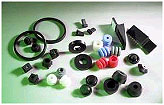 Precision rubber components